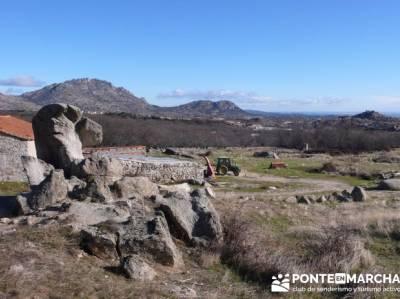 Senderismo Sierra Norte Madrid - Belén Viviente de Buitrago; senderismo la pedriza